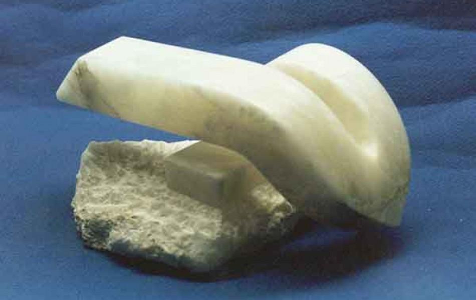 Arco vahido 34 x 24 x 17   alabastro 1991