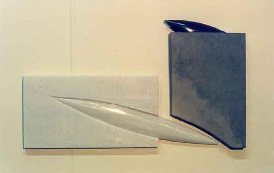 Momentos duraderos II dimensiones varias. mármol y p. de Calatorao 1998