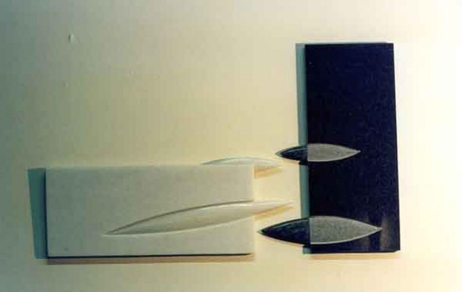 Momentos duraderos III dimensiones varias. mármol y p. de Calatorao 1998