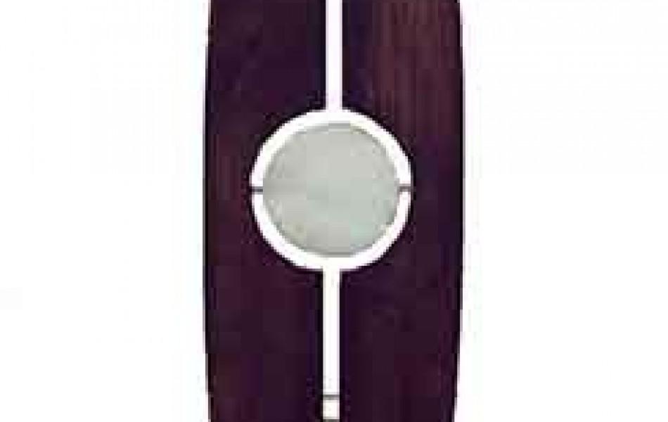 Opus I 255 x 43 x 2 madera y alabastro 1999