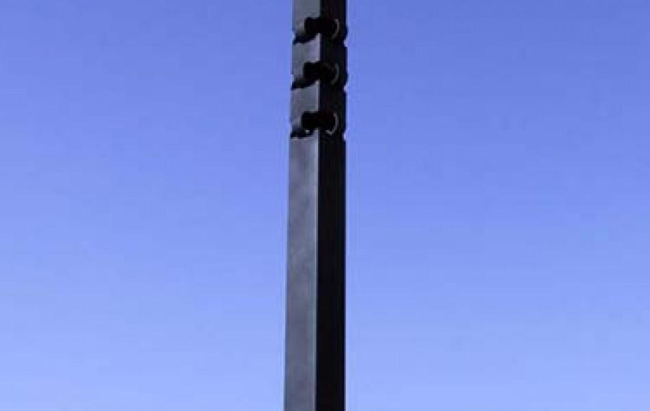 Peiron V 186 x 20 x 20 hierro y pizarra 1992