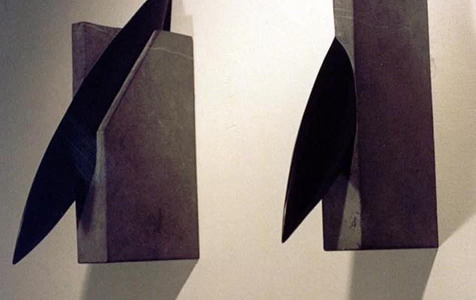 Pensamientos atados 33 x 4 x 27Piedra de Calatorao 1997