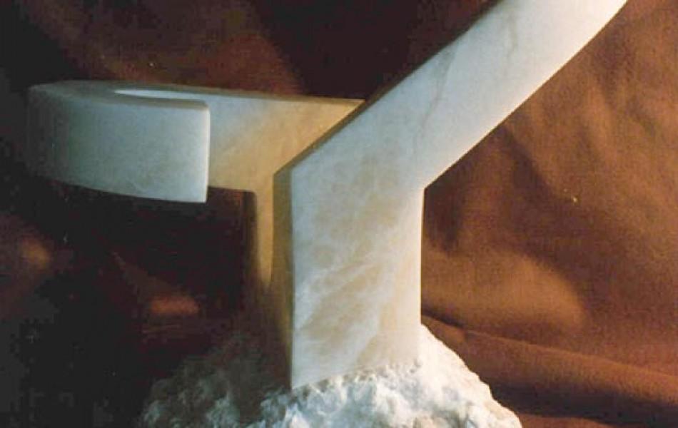 TRES ARCOS 40 x 54 x 21 alabastro 1991